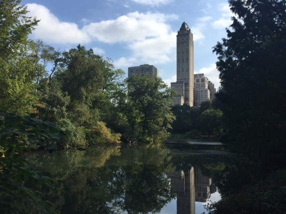 My first time seeing Central Park in non-jacket-wearing weather, and what a difference it makes.