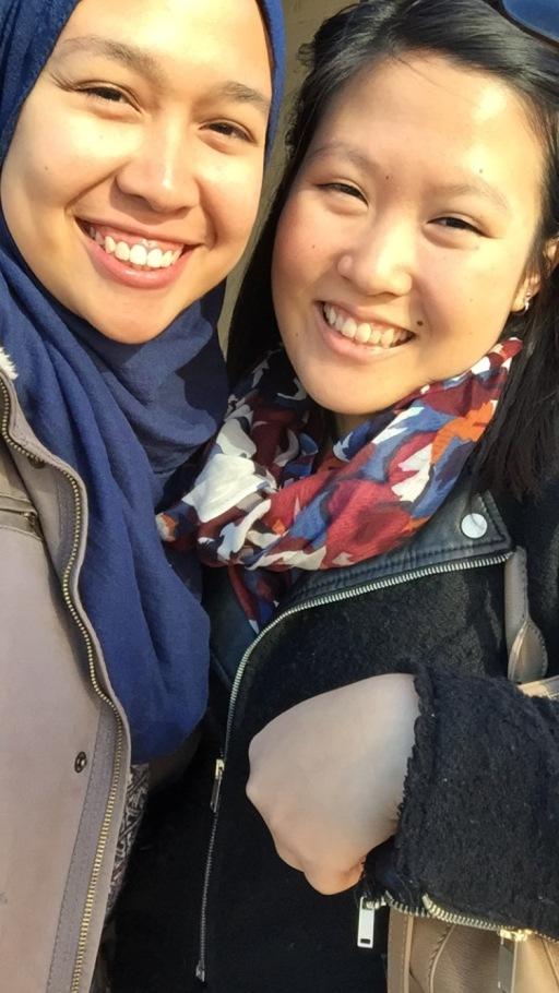 Early Sunday morning with Amanda <3